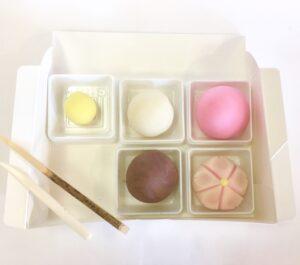 和菓子手作りキット銘々箱