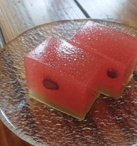 棹菓子「西瓜」